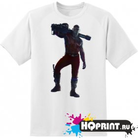 Футболка персонаж Drax