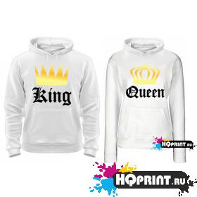 Парные толстовки King (Queen)