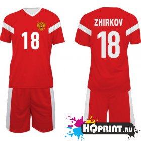 Футбольная форма сборная России – Жирков