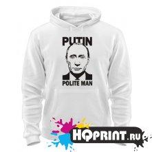 Толстовка Putin polite man