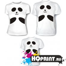 Комплект футболок Панды