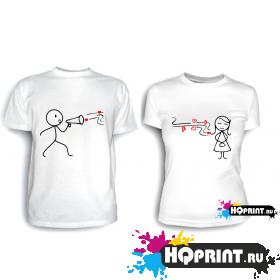 Парные футболки Громкоговоритель