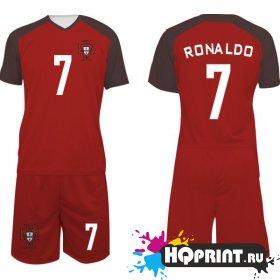 Футбольная форма сборная Португалии – Роналду