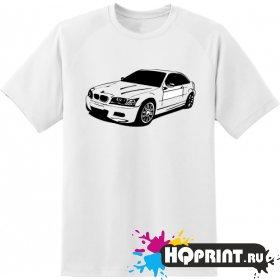 Футболка авто BMW