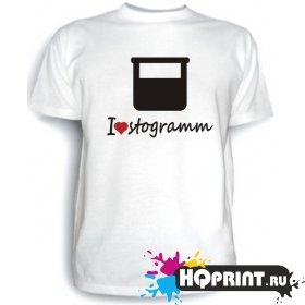 Футболка I love stogramm