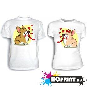 Парные футболки Всегда вместе