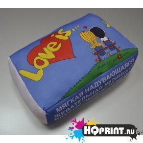 Подушка декоративная Love is...