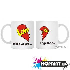 Кружки Love is...