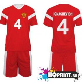Футбольная форма сборная России – Игнашевич