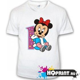 Детская футболка Минни 1