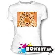 Футболка Взгляд леопарда