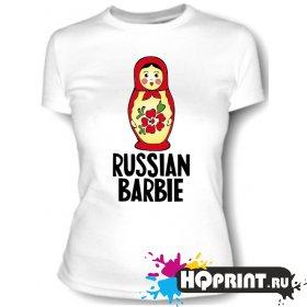 Футболка Russian barbie