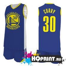 Баскетбольная форма NBA Стэф Карри Голден Стэйт Уорриорз  №30