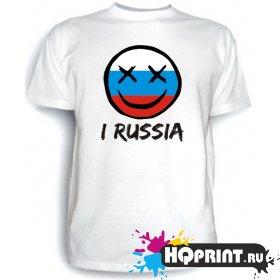 Футболка I RUSSIA