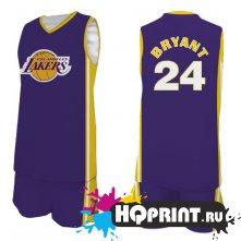 Баскетбольная форма NBA Лос-Анджелес Лейкерс  №24 Коби Брайант
