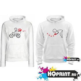 Парные толстовки Love (велосипед)