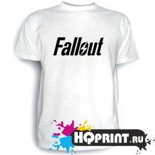 Футболка Fallout (лого)
