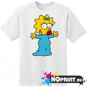 Футболка дочь Гомера