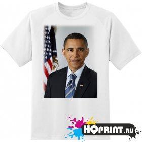 Футболка президент Барак Обама