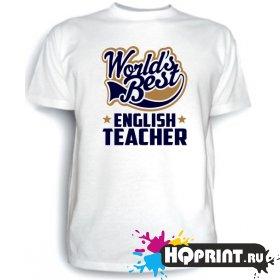 Футболка English teacher