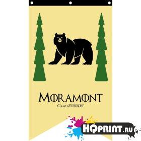 Флаг дома Мормонт Игра Престолов