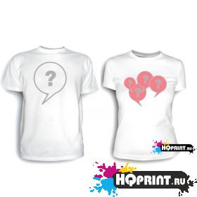 Парные футболки Вопросы