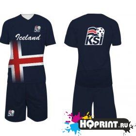 Футбольная форма сборная Исландии