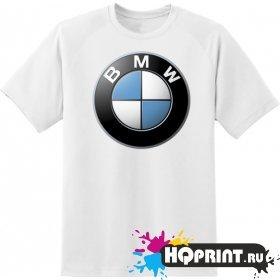 Футболка значек BMW