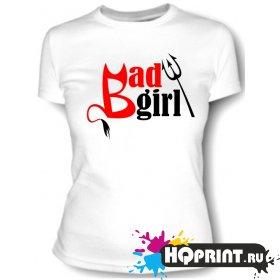 Футболка Badgirl