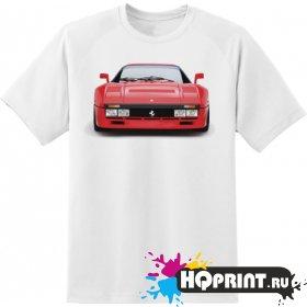 Футболка красная Ferrari