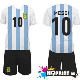 Футбольная форма сборная Аргентины – Месси