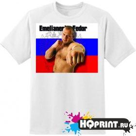 Футболка боксер Емельяненко