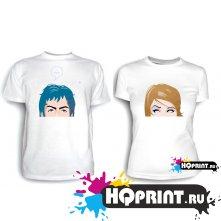 Парные футболки Faces