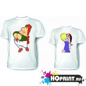 Комплект футболок Малыш и карлсон