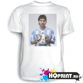 Футболка Messi (с мячом)