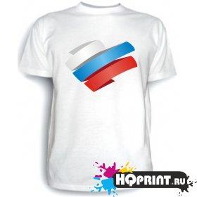 Футболка Люблю Россию