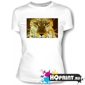 Футболка Огненный леопард