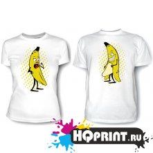 Парные футболки Бананы