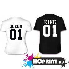 Футболки King 01 (Queen 01)