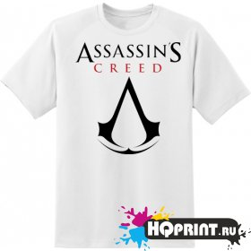 Футболка Assassin's creed логотип
