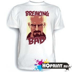 Футболка Breaking Bad (Уолтер)