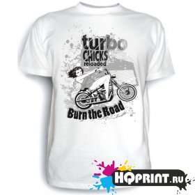 Футболка Turbo chicks