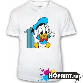 Детская футболка Дональд