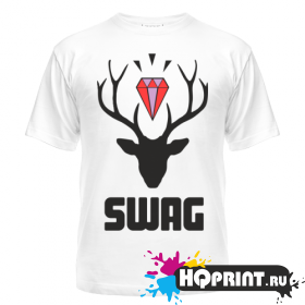 Футболка SWAG deer