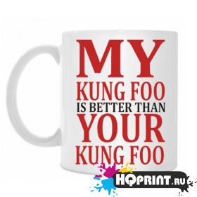 Кружка my king foo