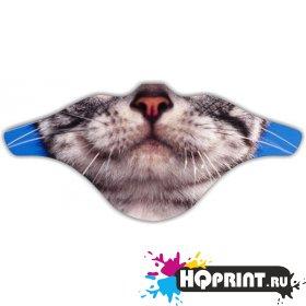 Ветрозащитная маска Кот