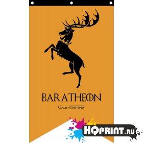 Флаг дома Baratheon Игра Престолов