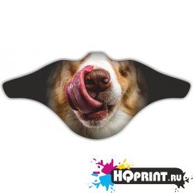 Ветрозащитная маска Собака 2