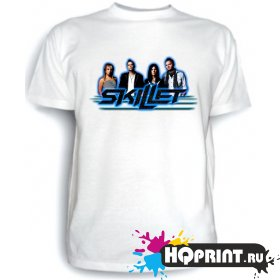 Футболка Skillet (рок-группа)