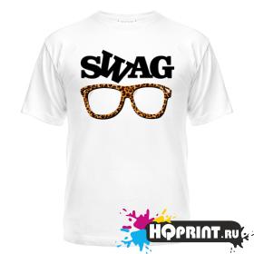 Футболка SWAG очки